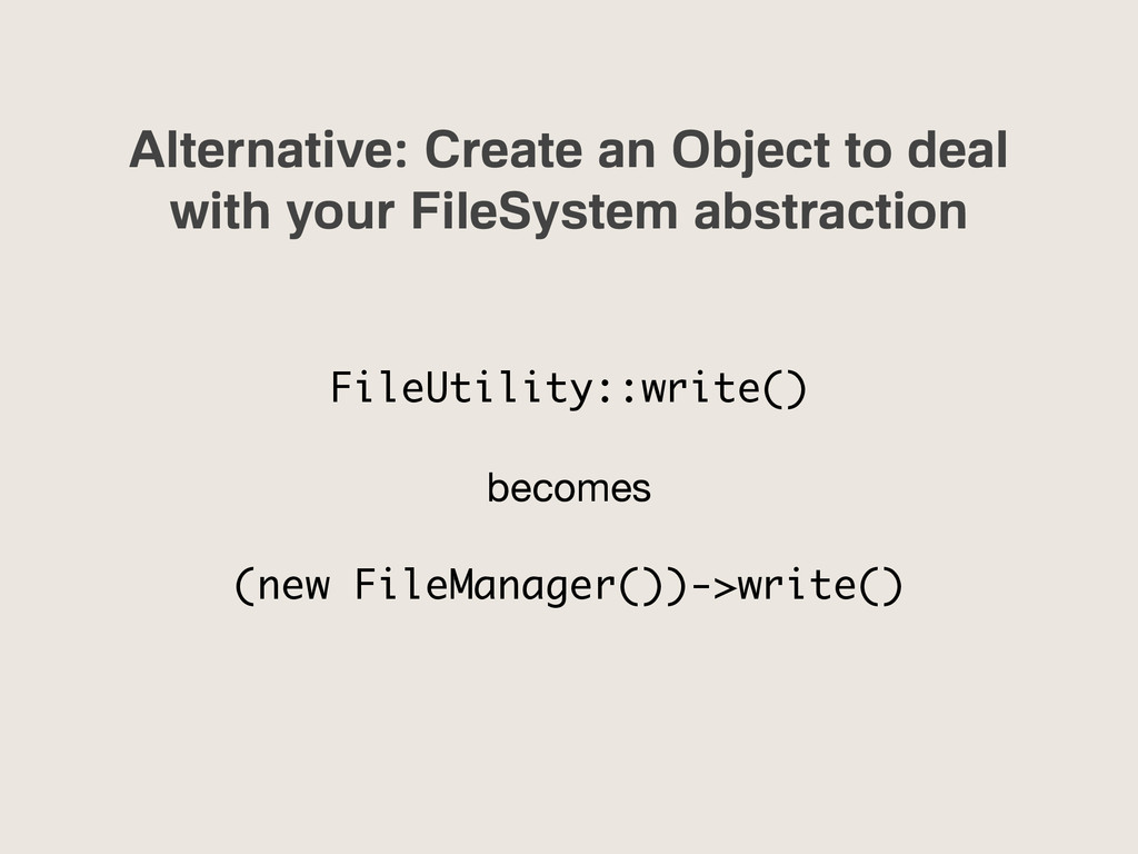 Alternative: Create an Object to deal with your...