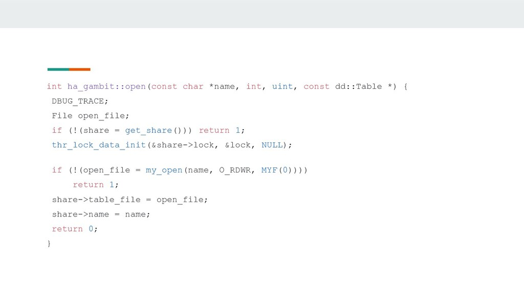 int ha_gambit::open(const char *name, int, uint...