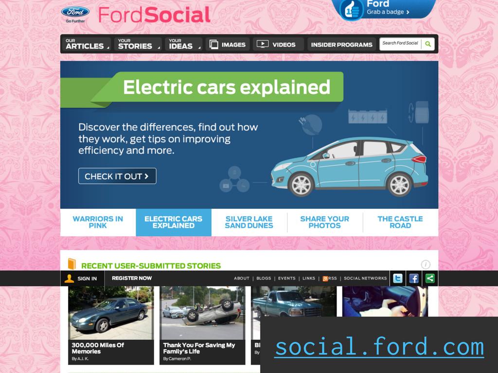 social.ford.com