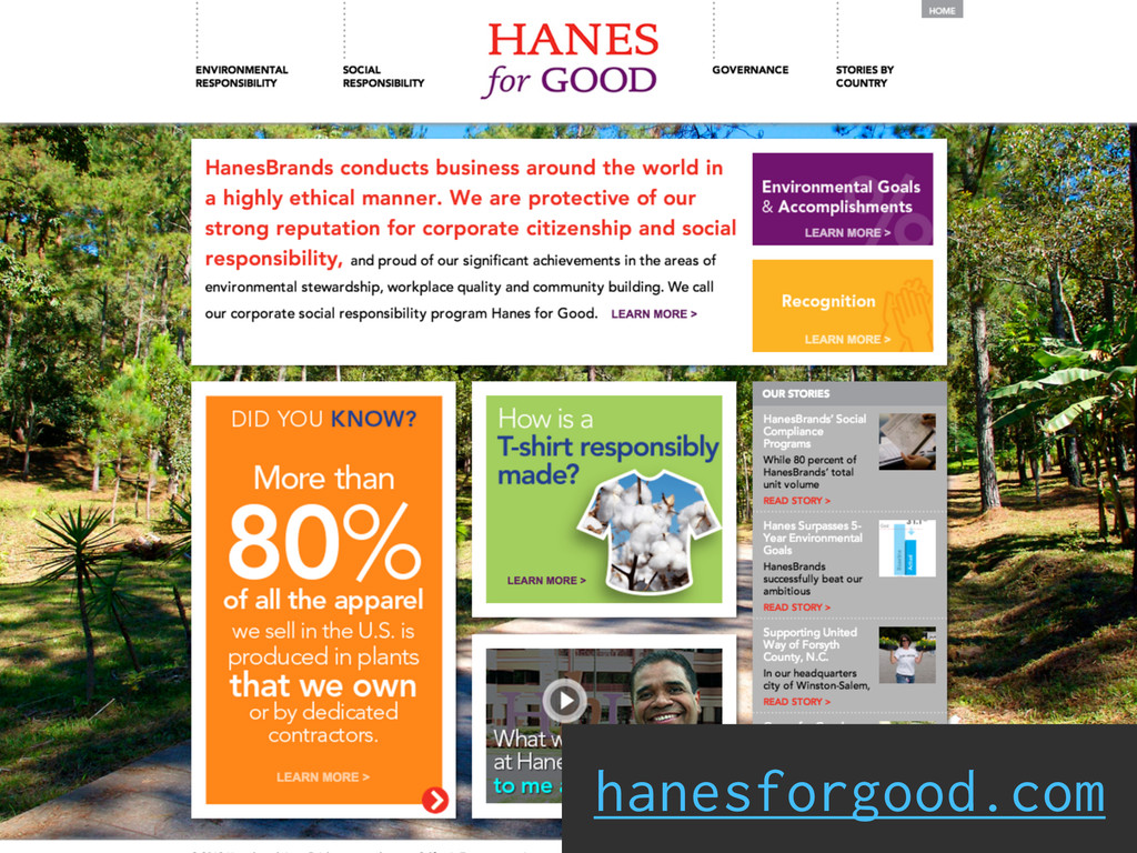 hanesforgood.com