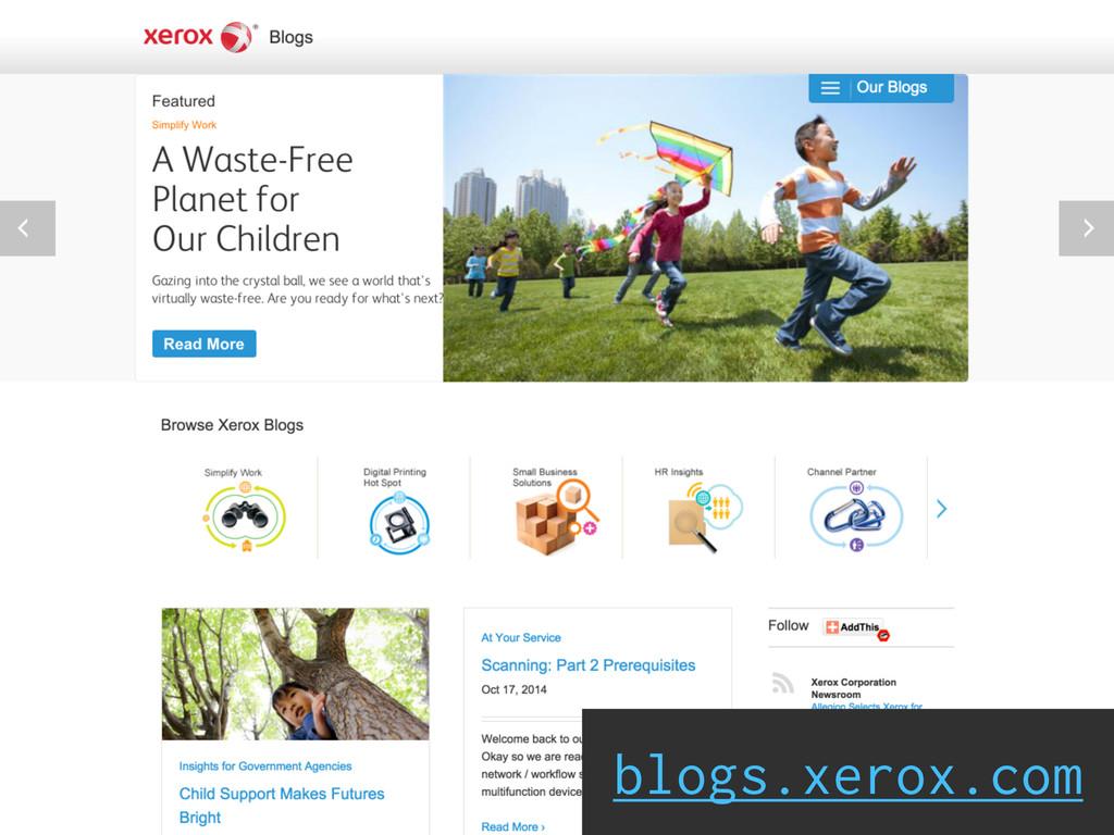 blogs.xerox.com