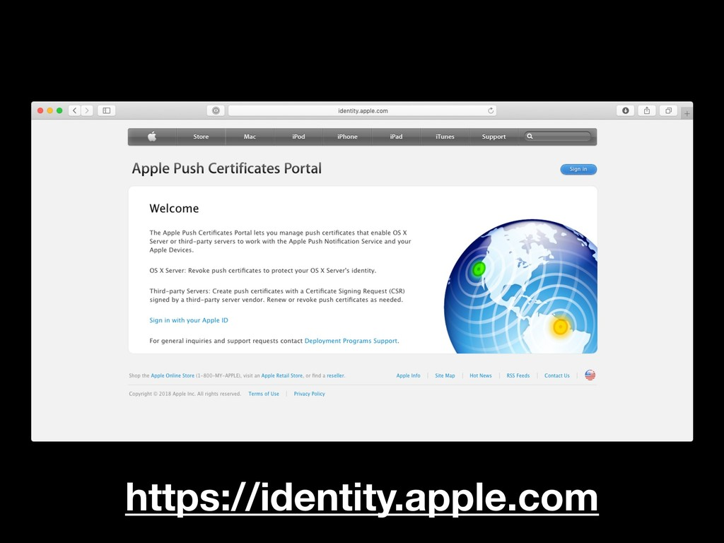 https://identity.apple.com