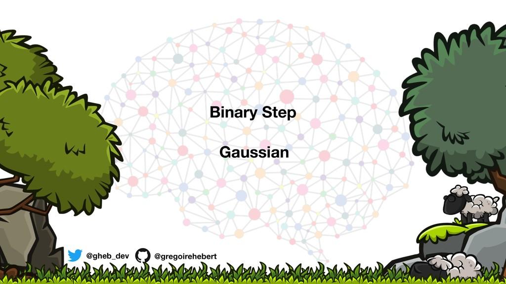 @gheb_dev @gregoirehebert Binary Step Gaussian