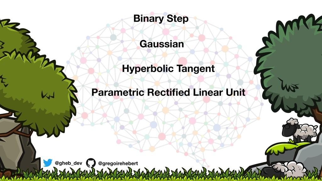 @gheb_dev @gregoirehebert Binary Step Gaussian ...