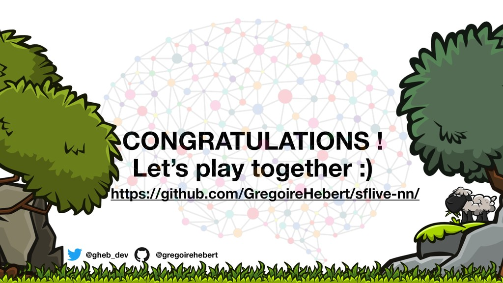 CONGRATULATIONS ! Let's play together :) https:...