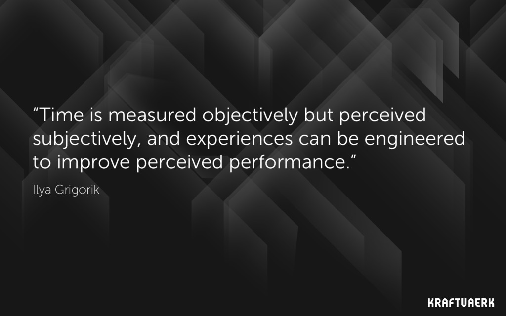 """""""Time is measured objectively but perceived sub..."""