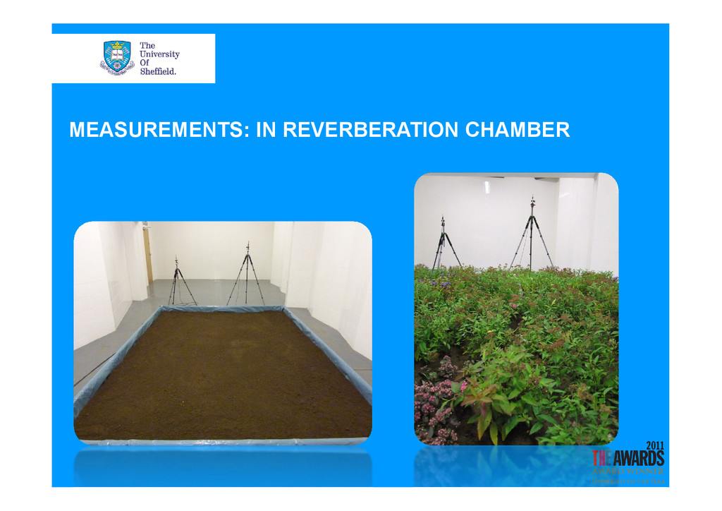 MEASUREMENTS: IN REVERBERATION CHAMBER