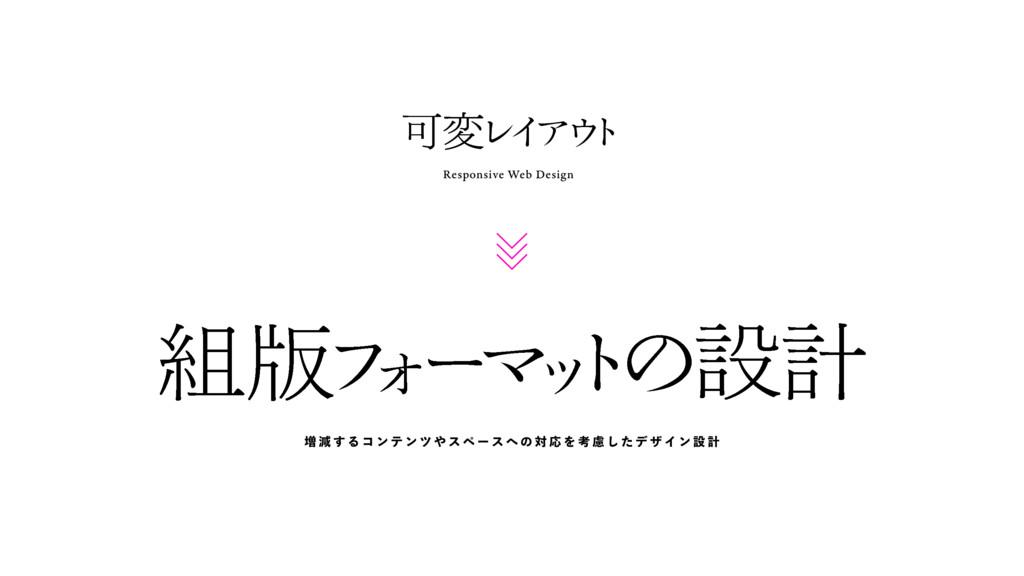 Responsive Web Design Մม Ϩ Π Ξ  τ ൛ ϑ Υ ʔ Ϛ ο...