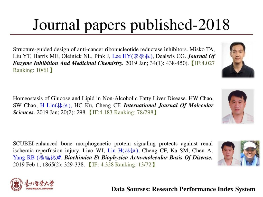 Journal papers published-2018 Homeostasis of Gl...