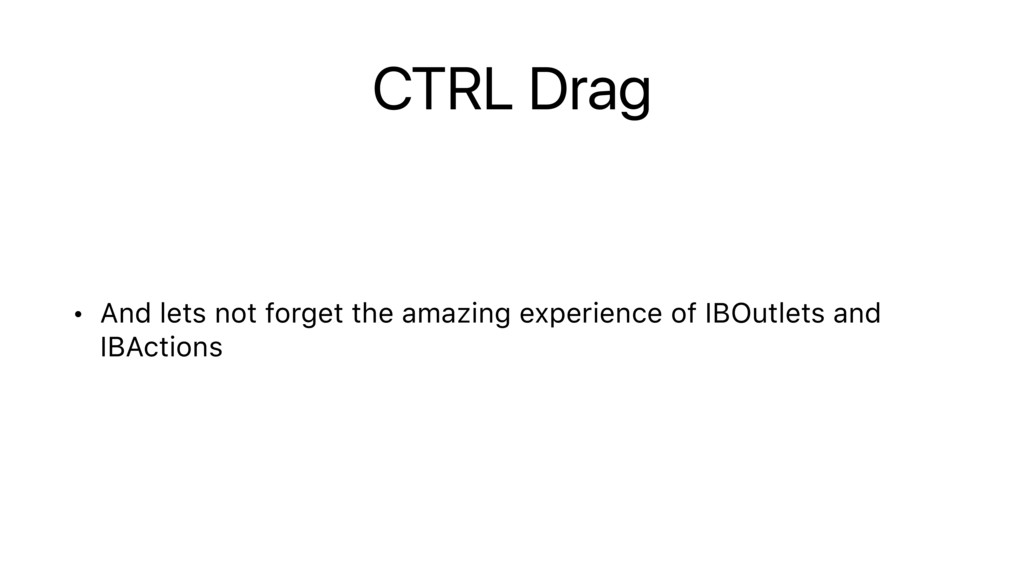 CTRL Drag • And lets not forget the amazing exp...