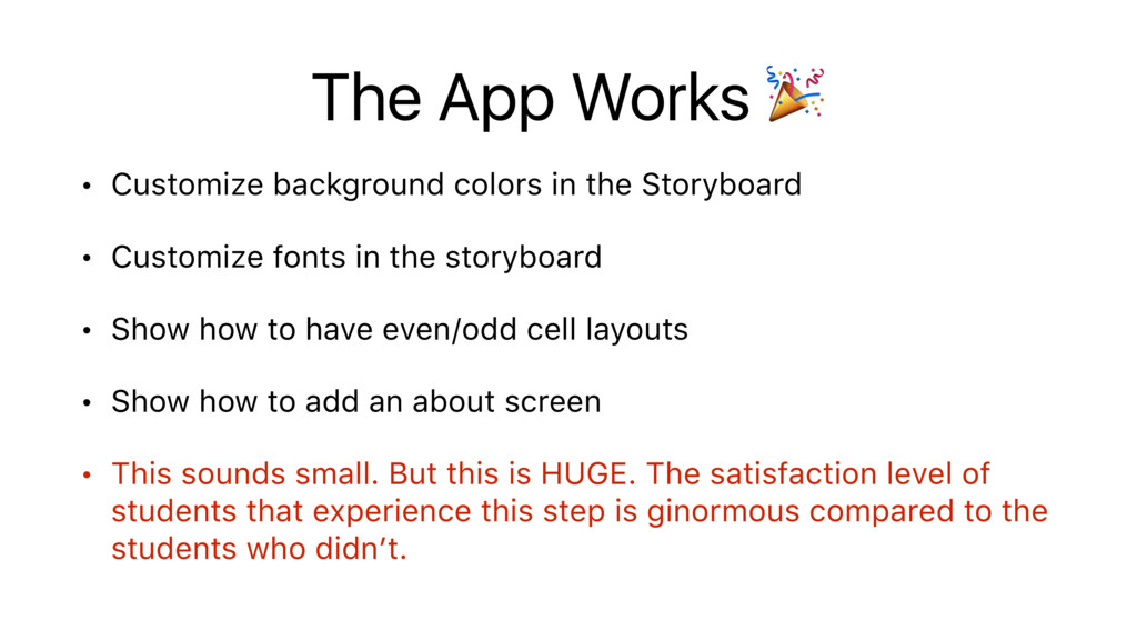 The App Works  • Customize background colors in...