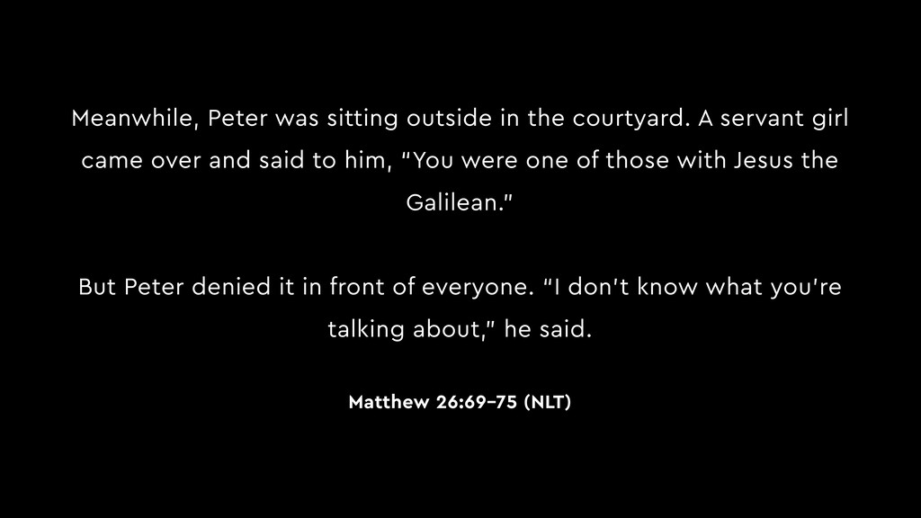 Meanwhile, Peter was sitting outside in the cou...