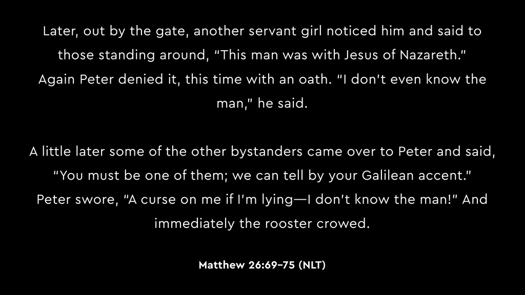 Later, out by the gate, another servant girl no...