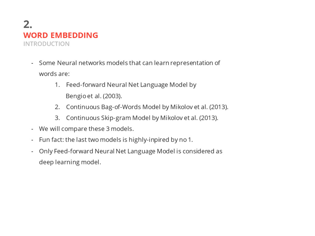 2. WORD EMBEDDING INTRODUCTION - Some Neural ne...
