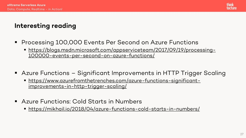 27 § Processing 100,000 Events Per Second on Az...