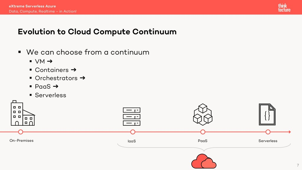 7 § We can choose from a continuum § VM ➔ § Con...