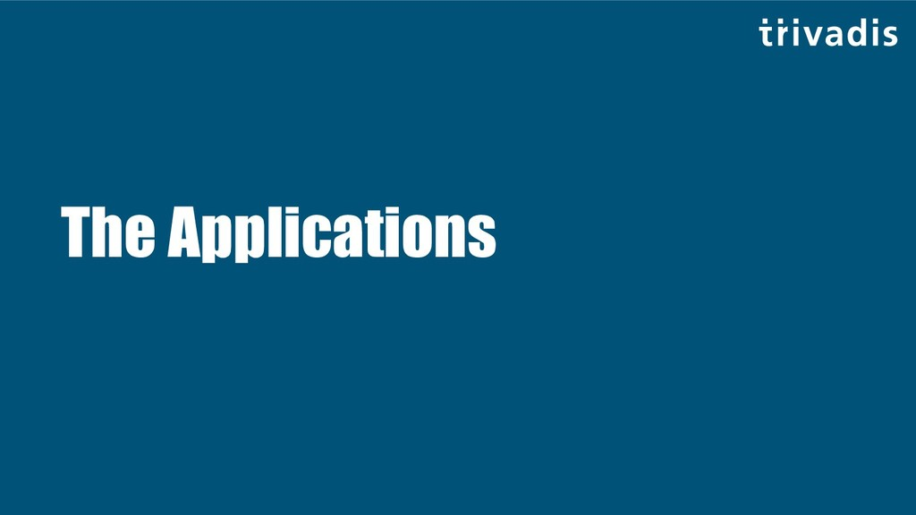 The Applications