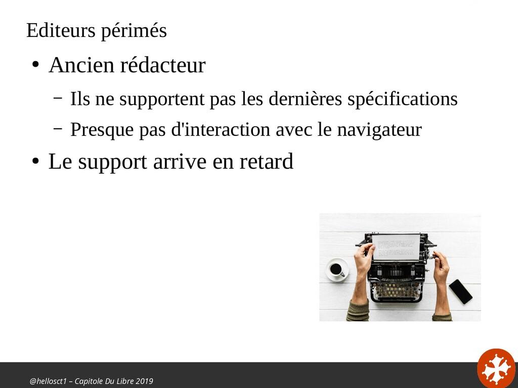 @hellosct1 – Capitole Du Libre 2019 Editeurs pé...