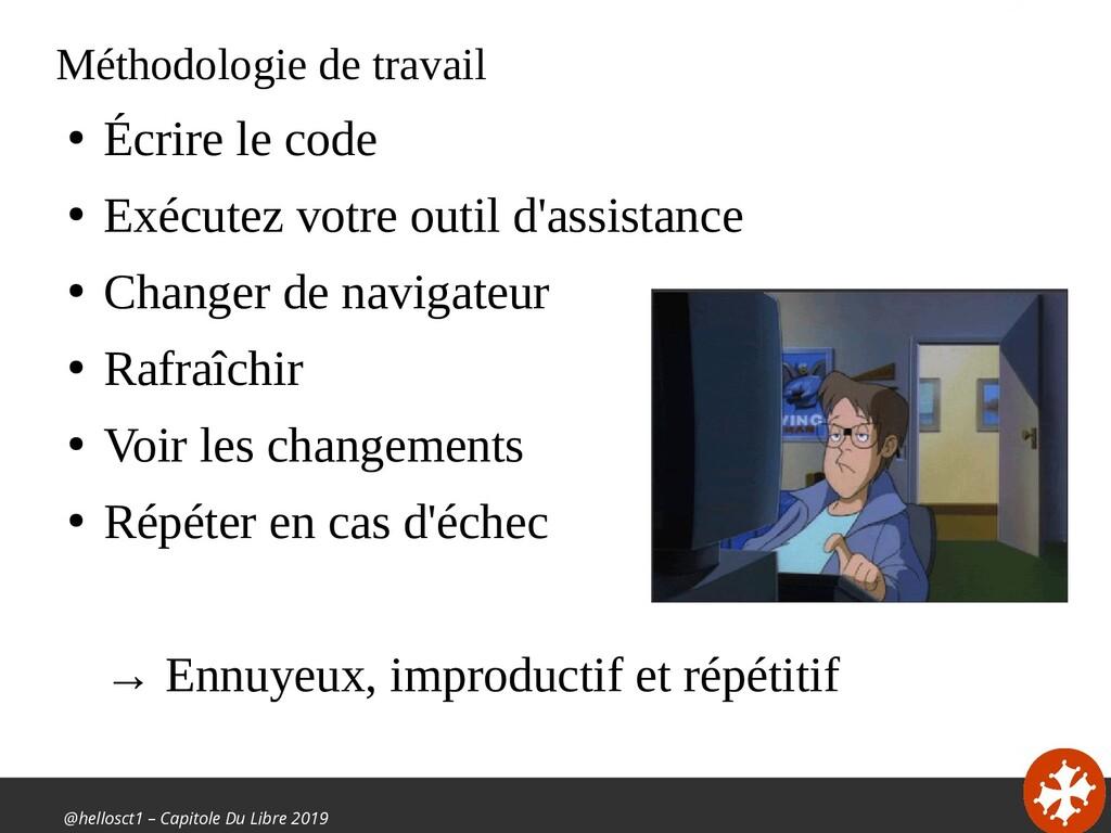 @hellosct1 – Capitole Du Libre 2019 Méthodologi...
