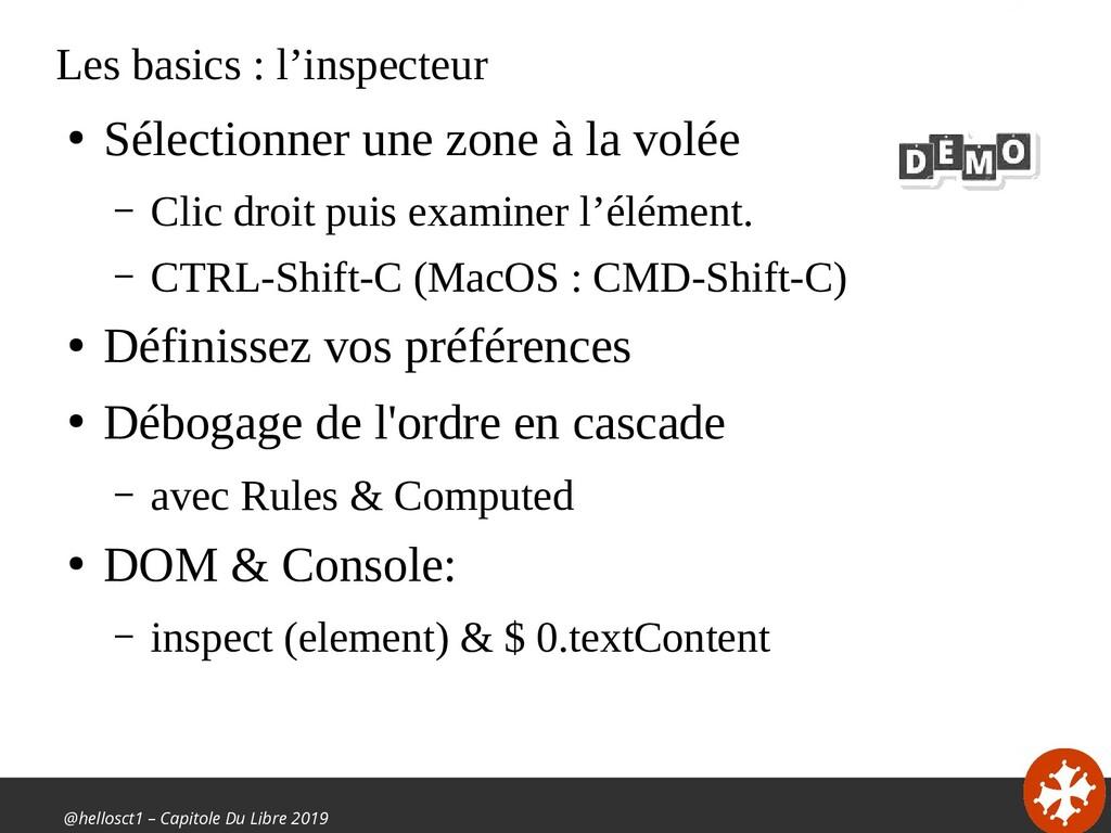 @hellosct1 – Capitole Du Libre 2019 Les basics ...