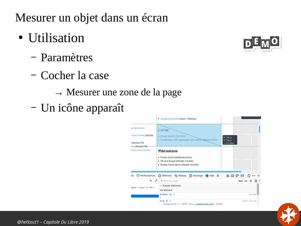 @hellosct1 – Capitole Du Libre 2019 Mesurer un ...