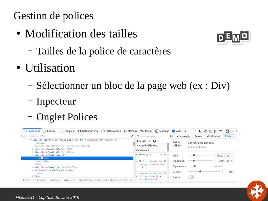@hellosct1 – Capitole Du Libre 2019 Gestion de ...