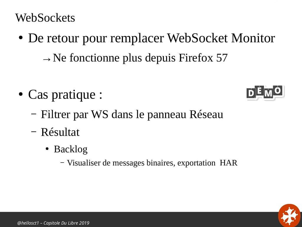 @hellosct1 – Capitole Du Libre 2019 WebSockets ...
