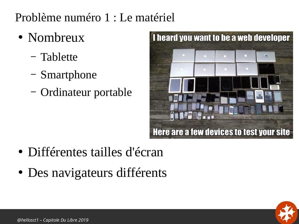@hellosct1 – Capitole Du Libre 2019 Problème nu...