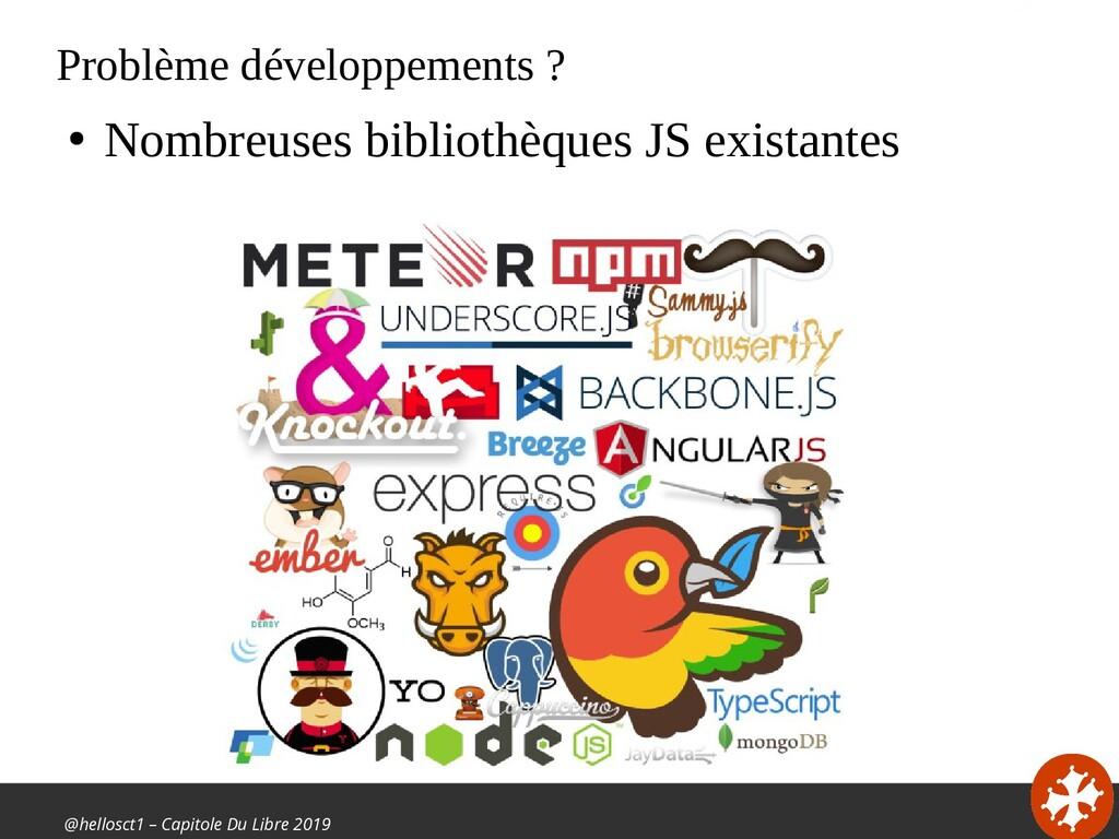 @hellosct1 – Capitole Du Libre 2019 Problème dé...