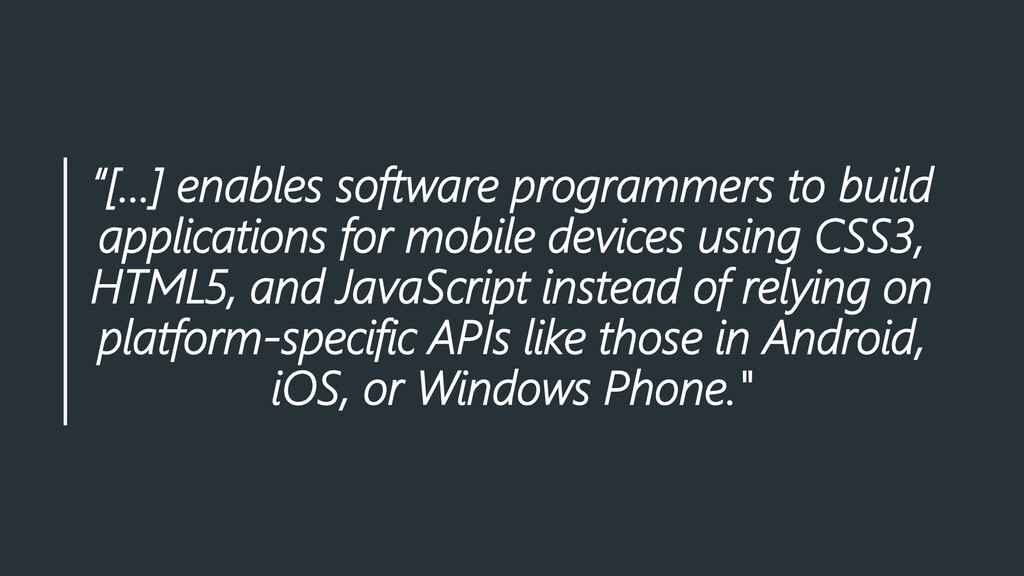 """[…] enables software programmers to build appl..."