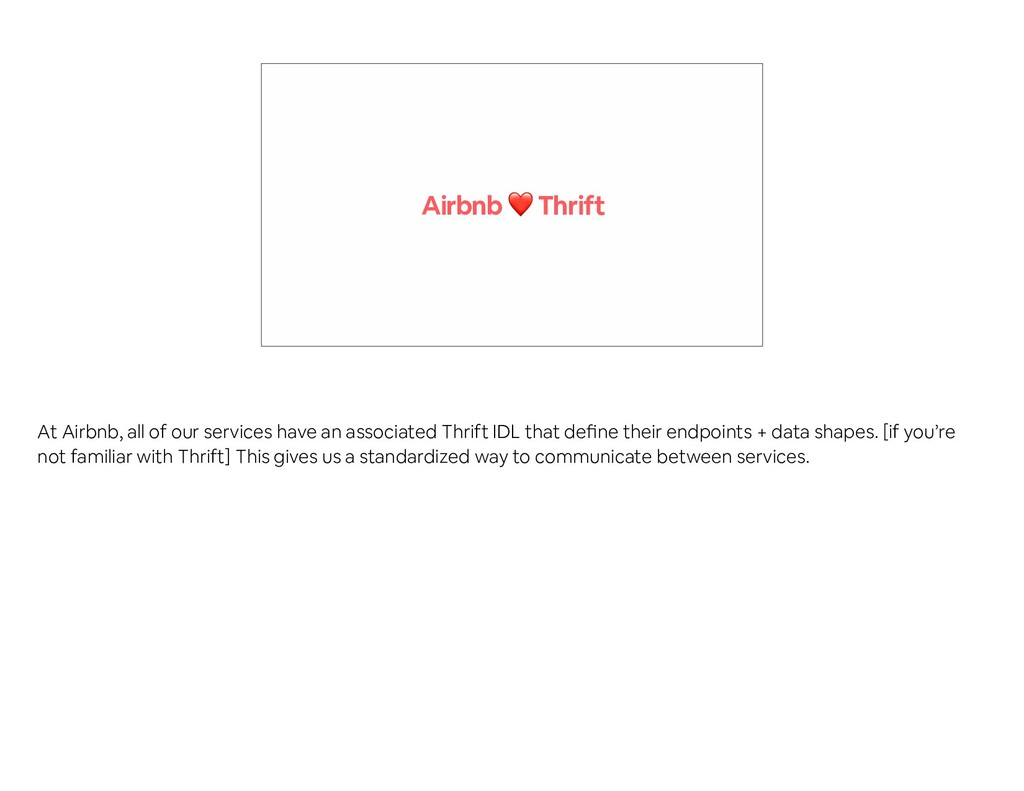 Airbnb ❤ Thrift At Airbnb, all of our services ...