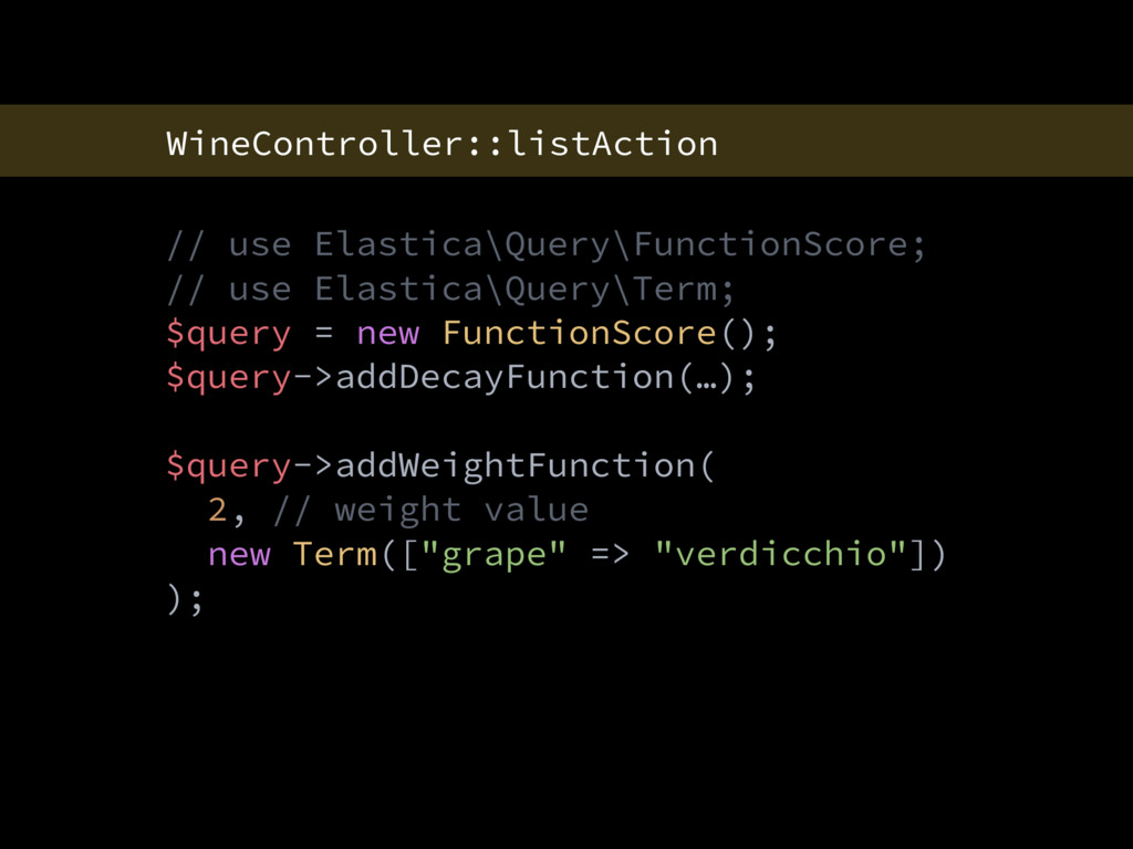 WineController::listAction // use Elastica\Quer...
