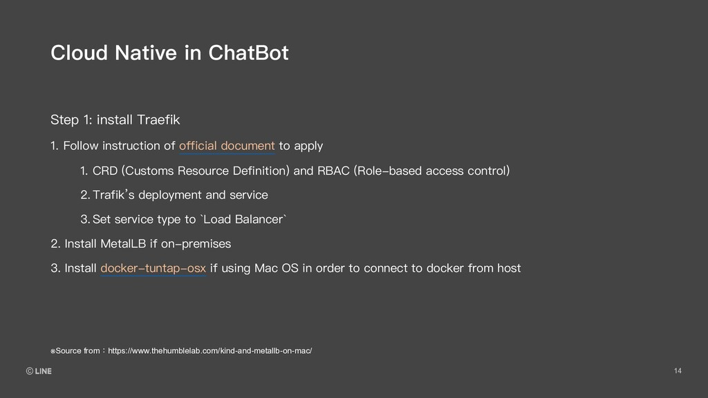 14 Step 1: install Traefik Cloud Native in Chat...