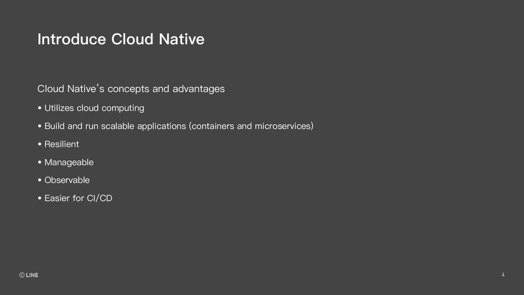 4 Cloud Native's concepts and advantages Introd...