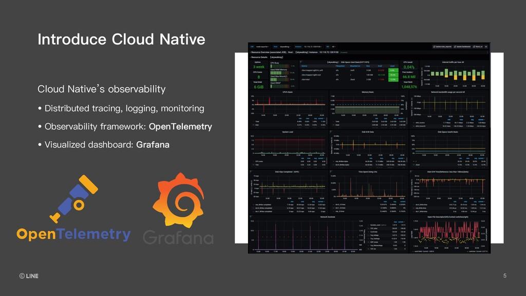 5 Cloud Native's observability Introduce Cloud ...