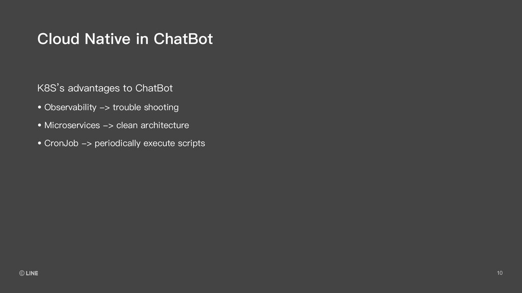 10 K8S's advantages to ChatBot Cloud Native in ...