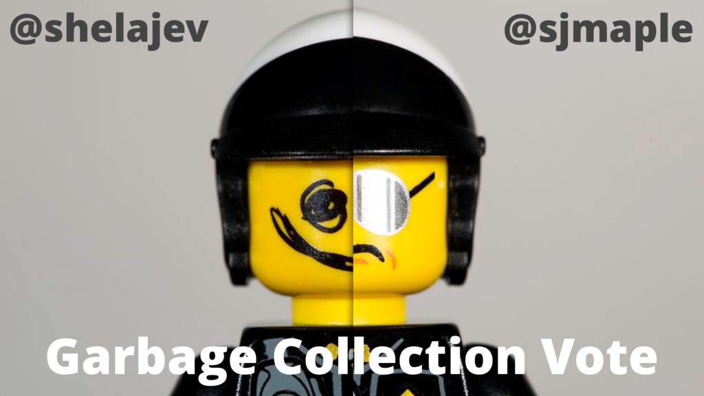 @shelajev @sjmaple Garbage Collection Vote
