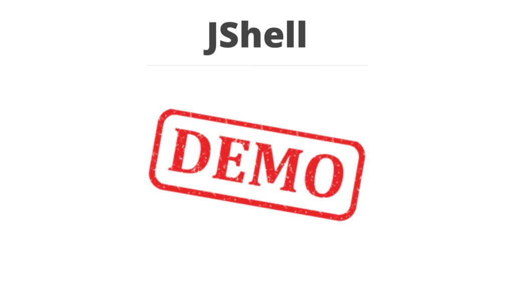 JShell