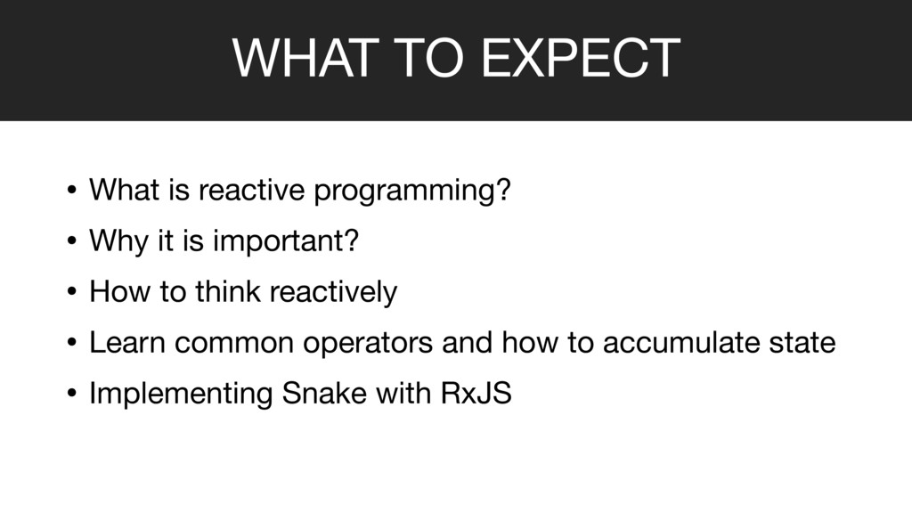 • What is reactive programming?  • Why it is im...