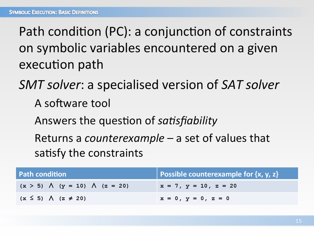 Path condiVon (PC): a conjuncVon ...