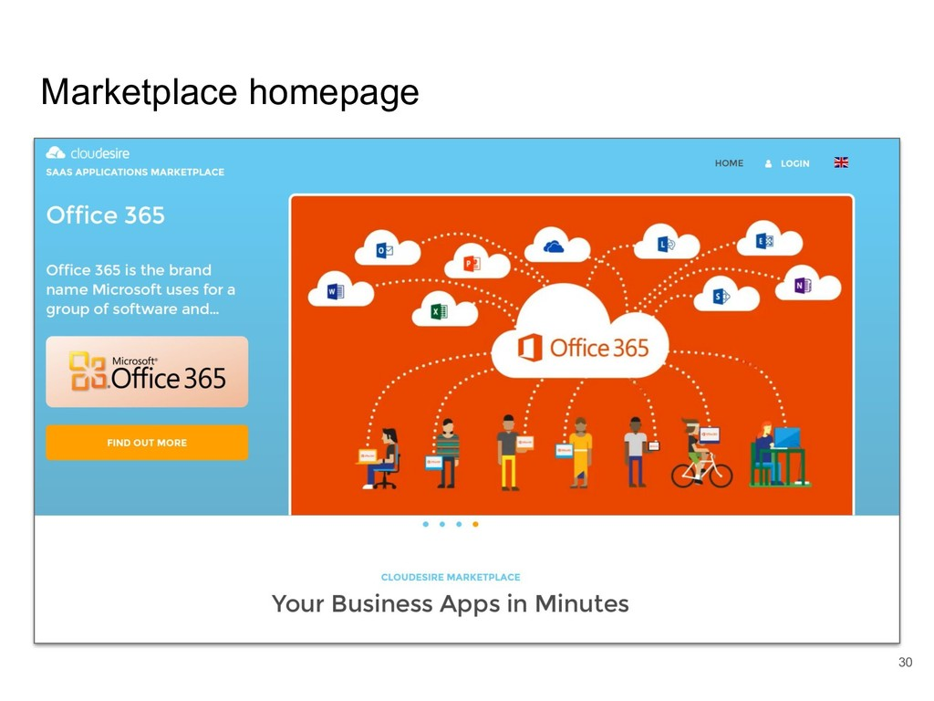 Marketplace homepage 30