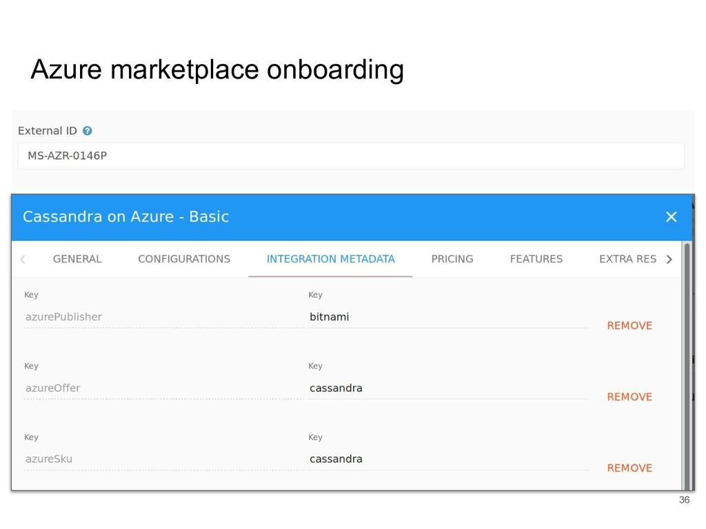 Azure marketplace onboarding 36