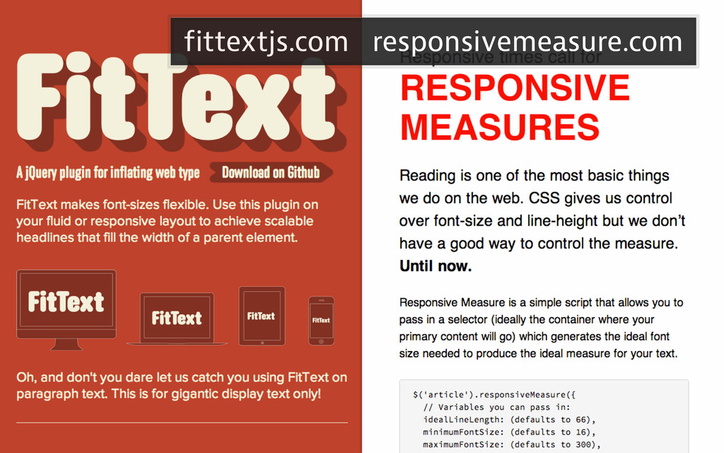 fittextjs.com responsivemeasure.com