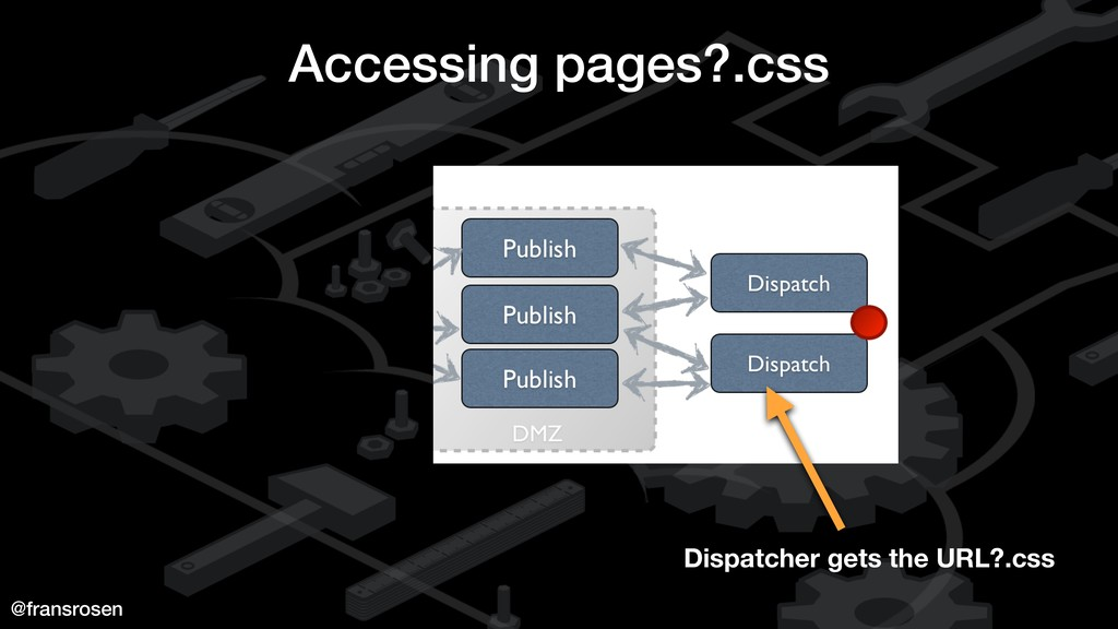 @fransrosen Accessing pages?.css Dispatcher get...