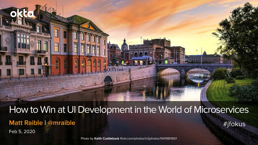 How to Win at UI Development in the World of Mi...
