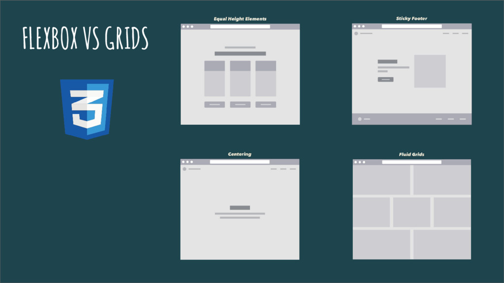 FLEXBOX VS GRIDS