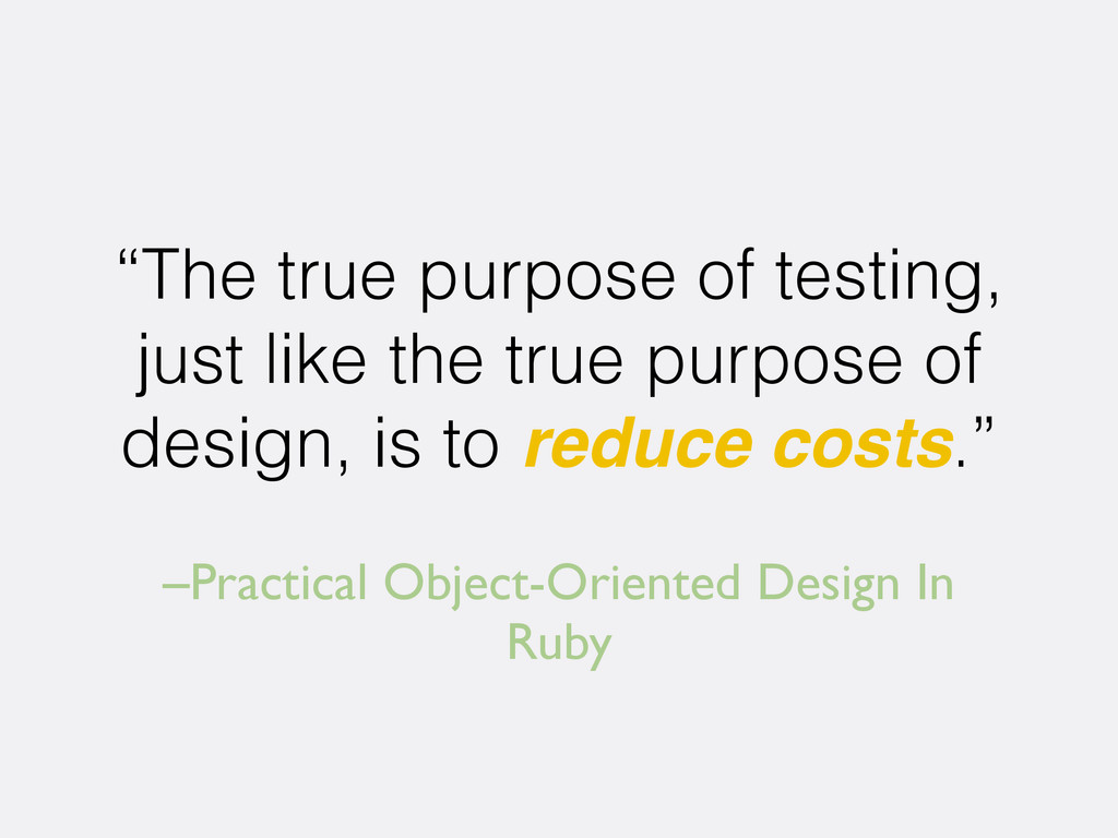 "–Practical Object-Oriented Design In Ruby ""The ..."