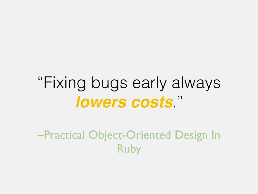 "–Practical Object-Oriented Design In Ruby ""Fixi..."
