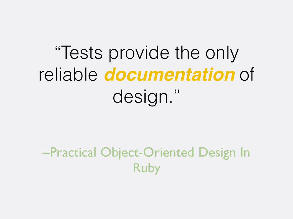 "–Practical Object-Oriented Design In Ruby ""Test..."