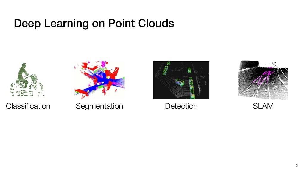 Classification Segmentation Detection SLAM Deep ...